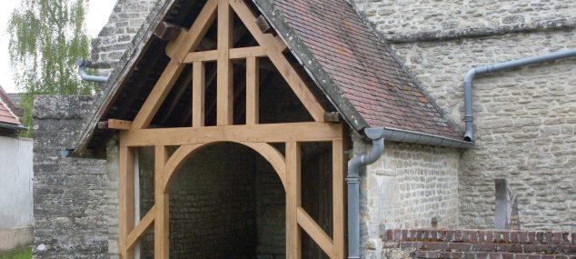 Rénovation d'un porche